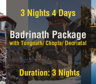 3 Nights Badrinath Package with Tungnath & Deoriyatal