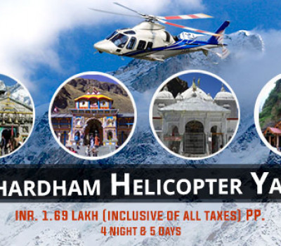 4 Nights Chardham Yatra Helicopter Package ex Dehradun/ Haridwar