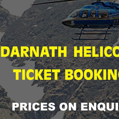 Kedarnath Helicopter Ticket Online Booking