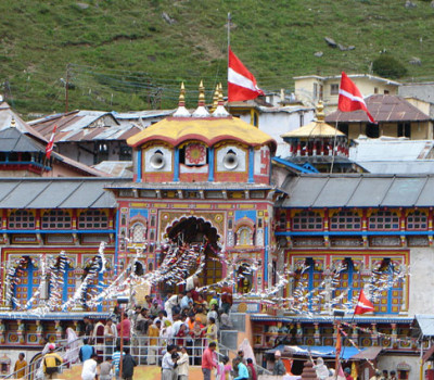 Badrinath temple will open on 5 May 2014