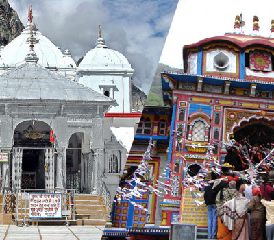 GMVN Gangotri Badrinath Do Dham Tour From Rishikesh