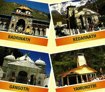 GMVN Executive Char Dham Tour From Delhi