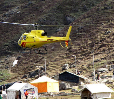 Badrinath Kedarnath Helicopter Tour Package ex Dehradun by Timberline Helicharters