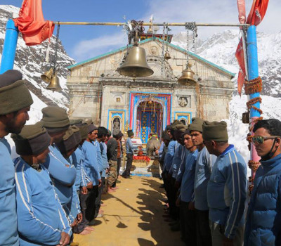 First Time: Maha Shiv Ratri celebrated in Kedarnath
