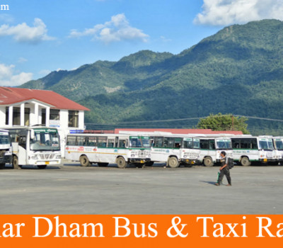 Char Dham Bus & Taxi Rates (Roadways, GMOU & Private)