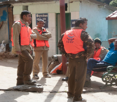 SDRF takes position at Char Dham route for smooth yatra