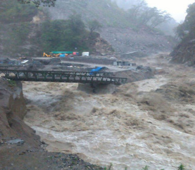 Char Dham Yatra temporarily suspended due to deluge
