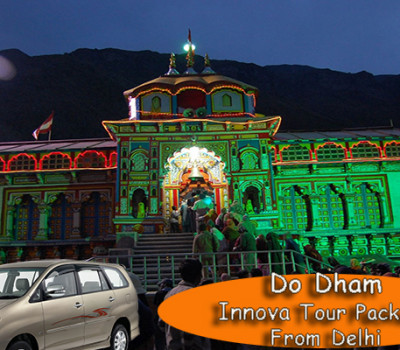 Do Dham Kedarnath Badrinath Yatra Package from Delhi by Innova