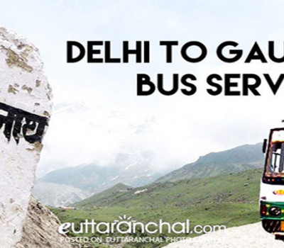 Delhi to Kedarnath (Gaurikund) Daily Bus Service from Uttarakahnd Roadways @548