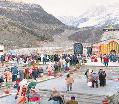 Token System Will be Employed in Kedarnath Temple