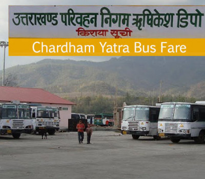 Chardham Travel Fare Reduced by 18%