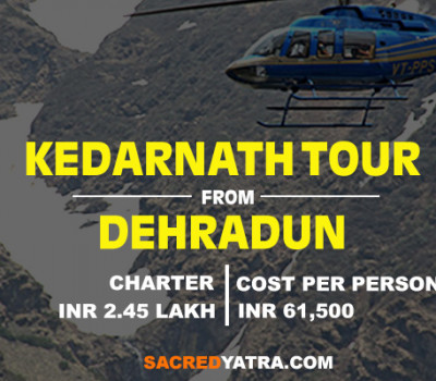 Kedarnath Helicopter Tour Package From Dehradun