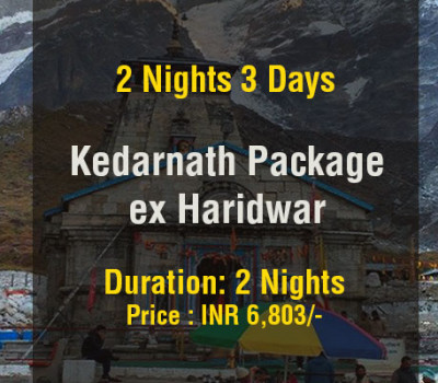 2 Nights Kedarnath Package From Haridwar