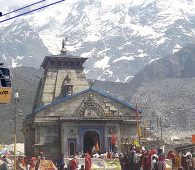 Ropeway will be built between Gaurikund and Kedarnath