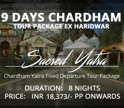 9 Days Chardham Tour Package From Haridwar