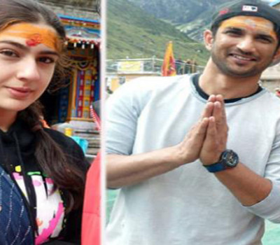 Kedarnath movie team visited Kedarnath Temple