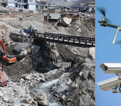 PM Modi to watch Kedarnath work with CCTV & Drones