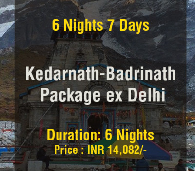 6 Nights Kedarnath Badrinath Do Dham Package From Delhi
