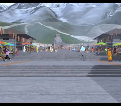 Grand 200 mtr long park to be constructed in Kedarnath