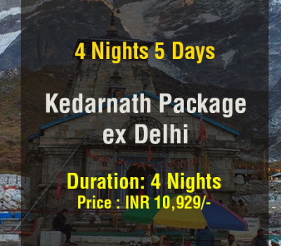 4 Nights Kedarnath Tour Package From Delhi