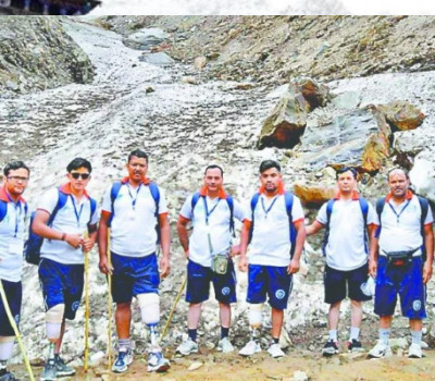 Disabled pilgrims trek to Kedarnath with artificial leg