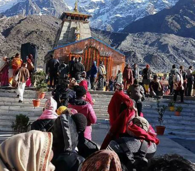 Kedarnath pilgrims break all time record