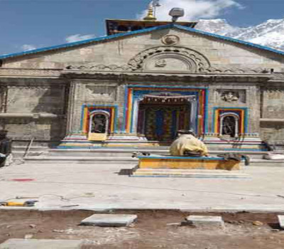 Stone Construction Work will Completed in Kedarnath by September