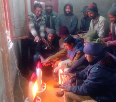 Warm room to save Pilgrims from cold in Kedarnath