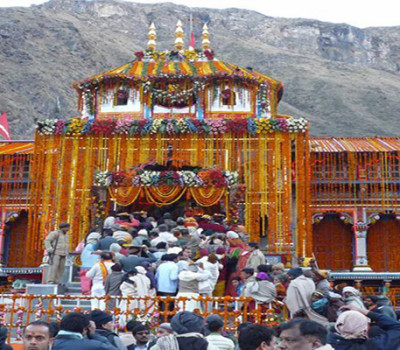 Portals of Badrinath Temple closed for winters