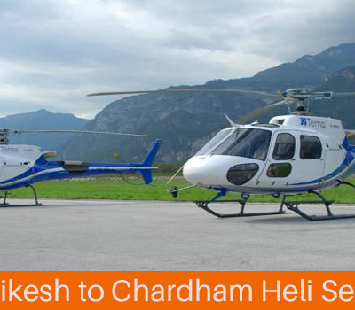 Chardham Heli Services to start from Rishikesh Railway Station