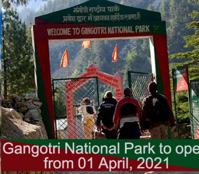 Gangotri National Park to open from 01 April, 2021 – Check how to get permit