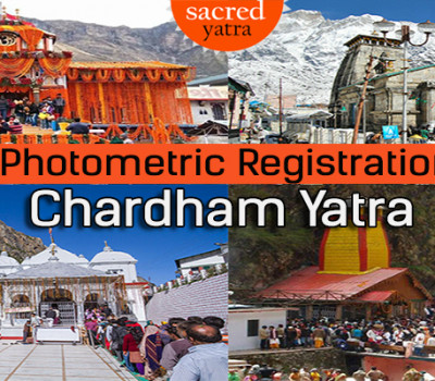 Photometric registration of pilgrims for Chardham Yatra 2021