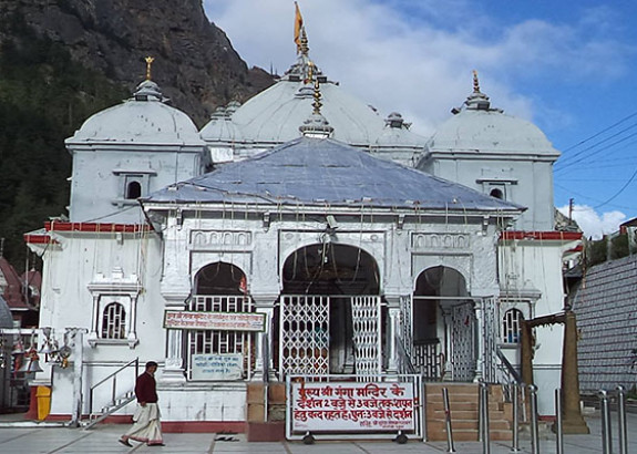 Portals of Gangotri Temple closed for winters
