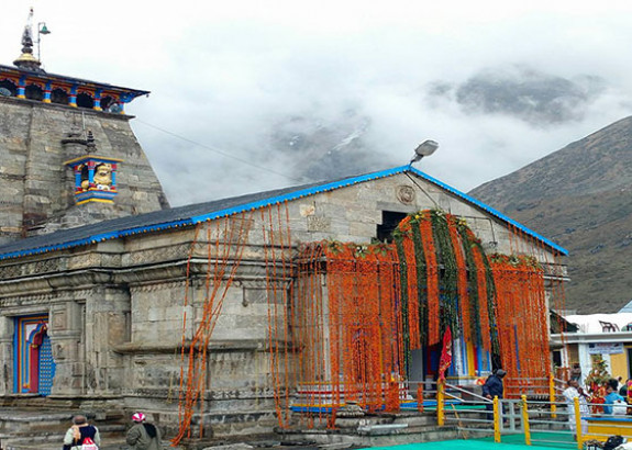 Portals of Kedarnath Temple closed for winters
