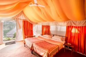 Inside Char Dham Barkot Camps