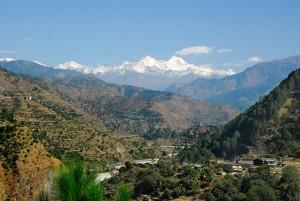 View of Yamuna Valley