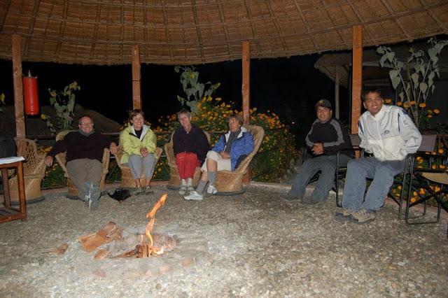 Bonfire in Camp