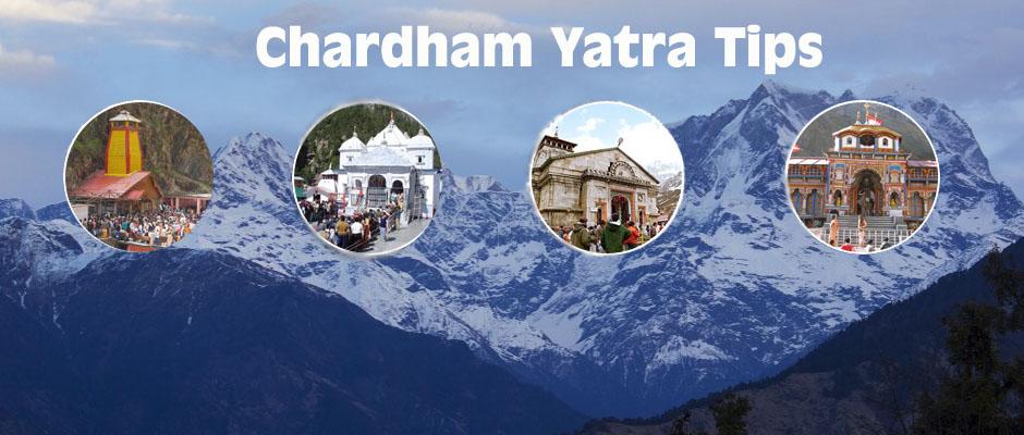 Chardham Yatra Tips