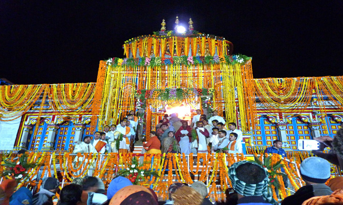 Badrinath Temple to be shut for winter on Nov 27
