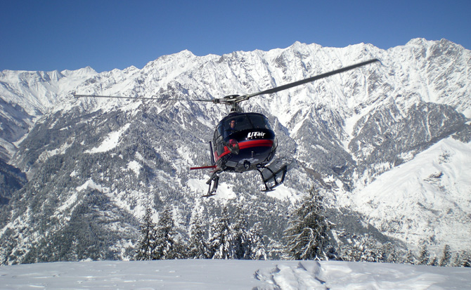 UTAir India Helicopter Tour for Char Dham Yatra