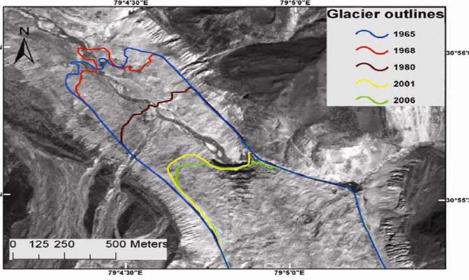 Gangotri glacier melting speedily