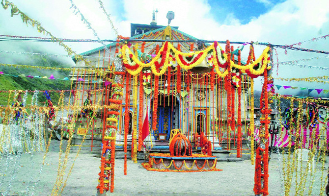 Only 1500 devotees allowed to visit Kedarnath Shrine per day