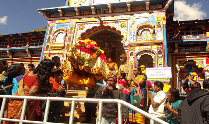 First pilgrimage group leaves for Char Dham Yatra