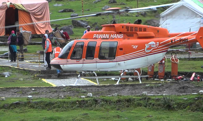 Private Helicopter Service to Kedarnath