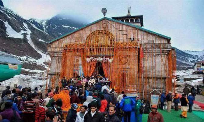 Rahul Gandhi pays homage to Kedarnath shrine