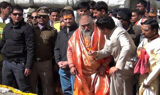 Rahul Gandhi says he felt 'fire-like' energy at Kedarnath temple