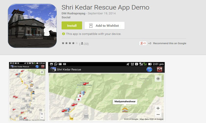 Shri Kedar Rescue mobile app to assist Char Dham Yatra pilgrims