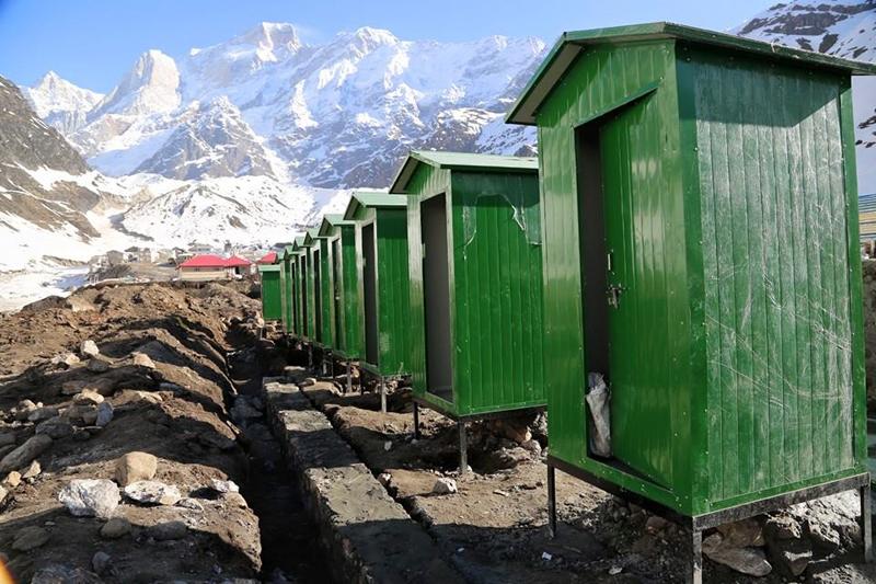 Washroom for tourists