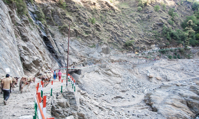 New flyover from Sonprayag to Gaurikund