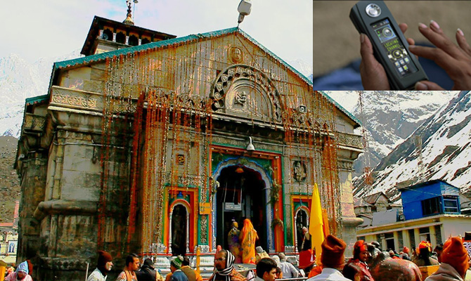 Satellite phones for pilgrims on pedestrian route to Kedarnath
